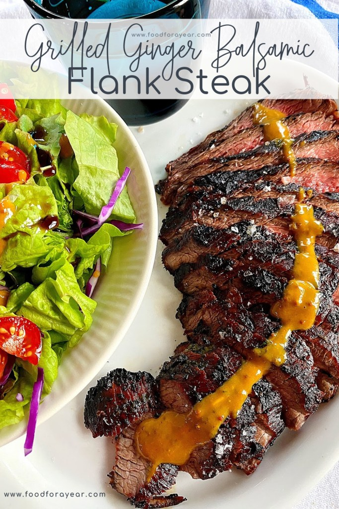 grilled flank steak pin