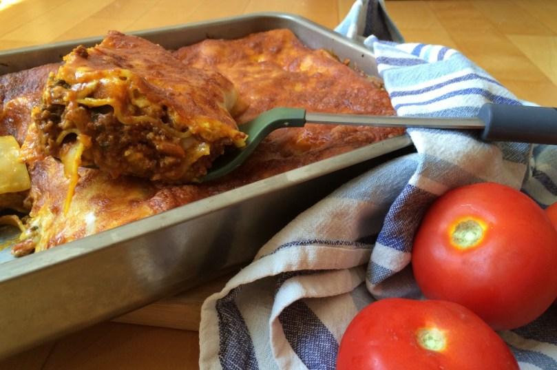 Orientalsiche Lasagne