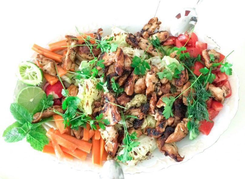 Hühnerbrustsalat
