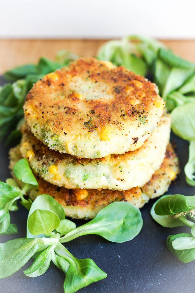 Kartoffel-Brokkoli-Laibchen