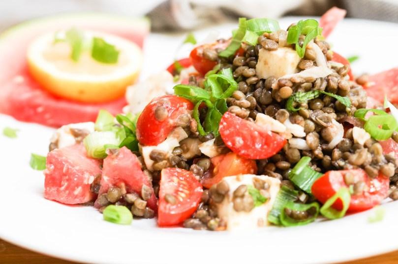 Hipp Sommerküche : Schwarzer linsensalat mit wassermelone foodforfamily
