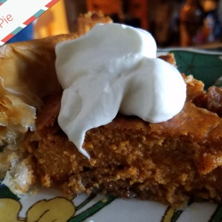 Praline Sweet Potato Pie in Phyllo is the Star of Thanksgiving Night