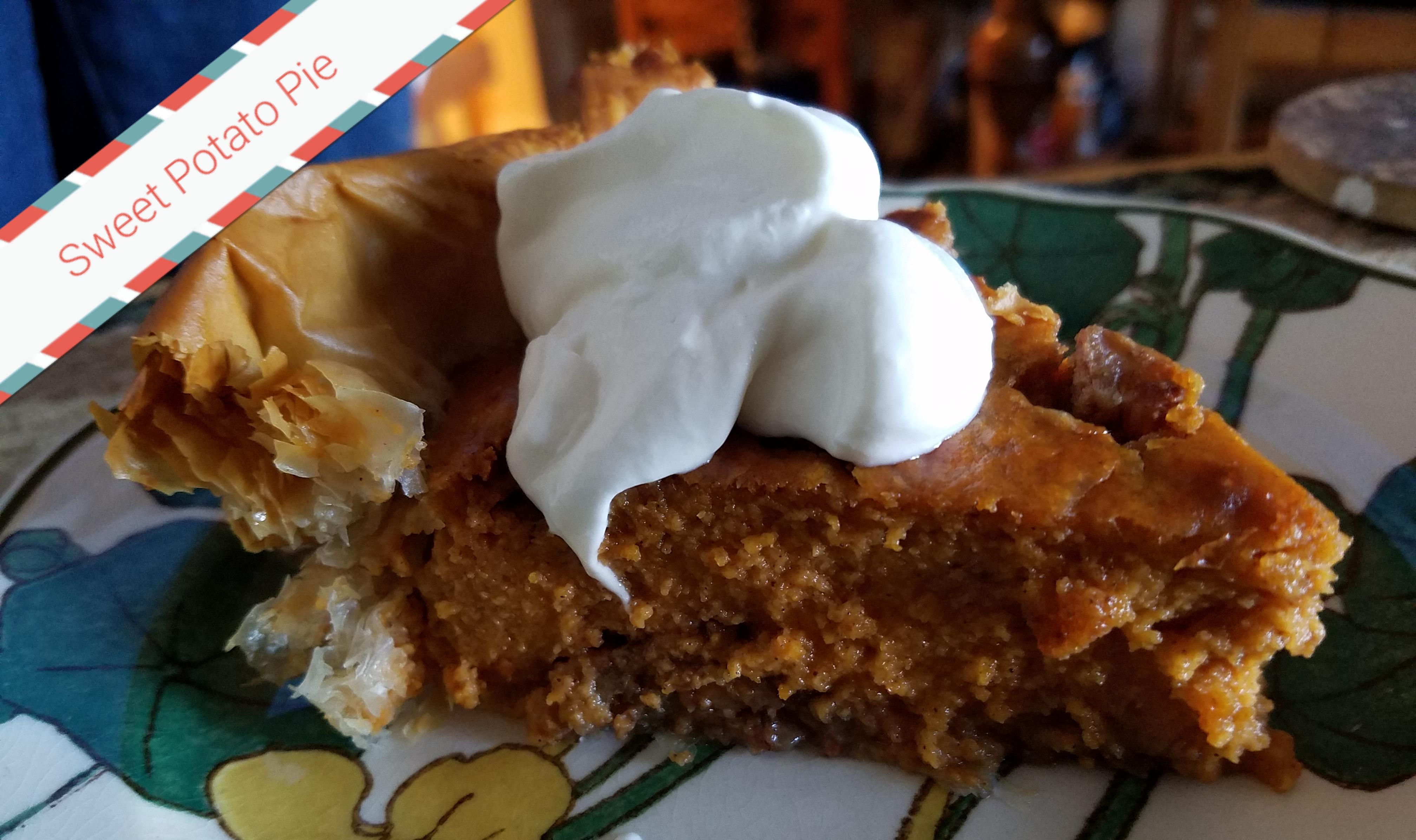Praline Sweet Potato Pie in Phyllo