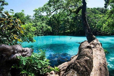 Blue Lagoon_Jamaica @earthposts