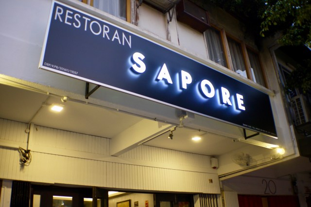 Exterior | Sapore | Food For Thought