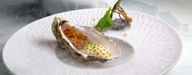 Food For Thought - Aziamendi88 - Oyster with Sea Foam