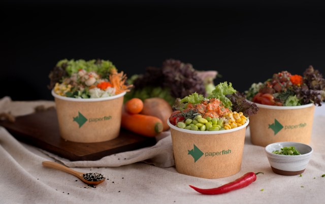 Paperfish Poke Bowls   Tiffin Throwdown   Food For Thought