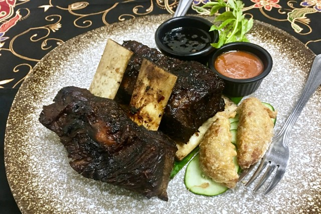 Rusuk Panggang | Chargrilled Ribs | Bijan Restaurant | Bijan Bar | Food For Thought
