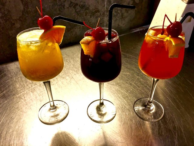 Sangria | Patio | Food For Thought