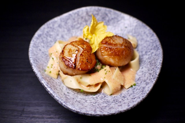 Seared Hokkaido Scallop | Soleil | Food For Thought
