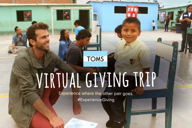 TOMS Virtual Giving Trip - TOMS - Food For Thought