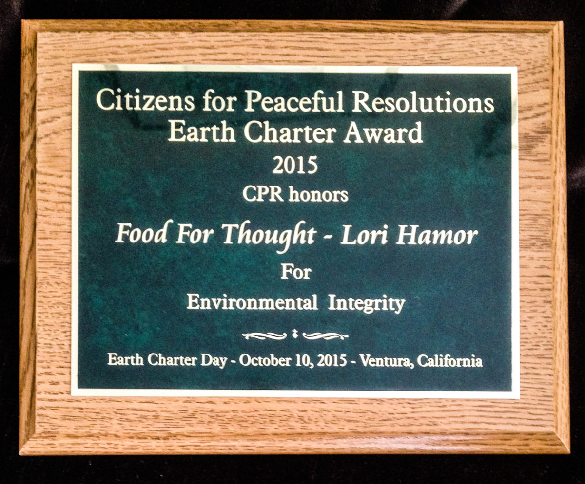 FFT executive Director Lori Hamor receives award!