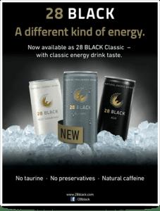 energy drink claim label natural caffeine