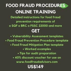 sqf edition 8 food fraud