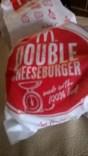Dinner: Double cheeseburger and mozzarella sticks