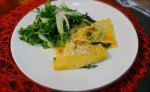 Ricotta Ravioli with a Rocket and Fennel Salad