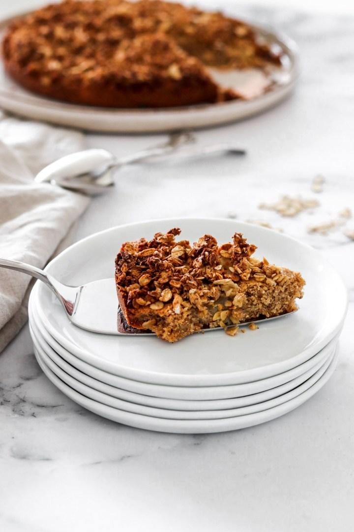 Chai Spiced Pear Cake (Gluten & Sugar Free)