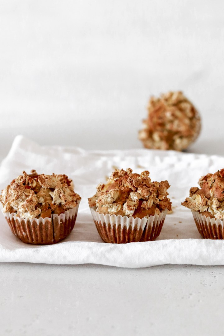Zucchini Muffins (Gluten, Oil & Sugar free)