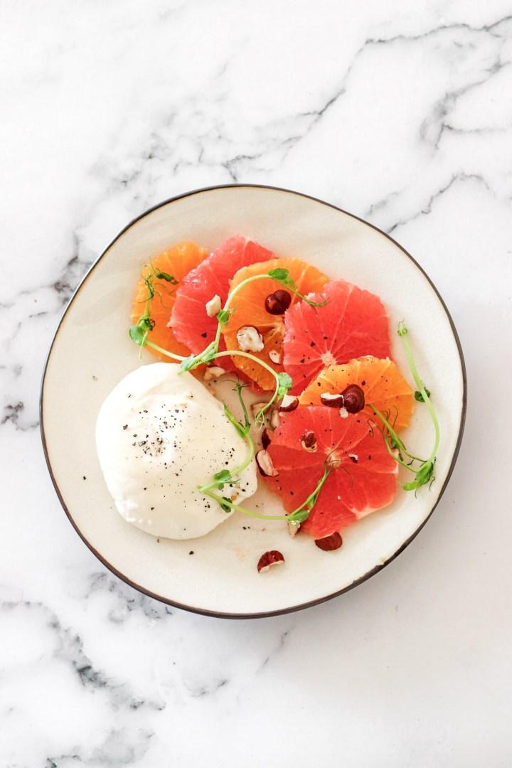 Citrus & Mozzarella Salad (Gluten Free)