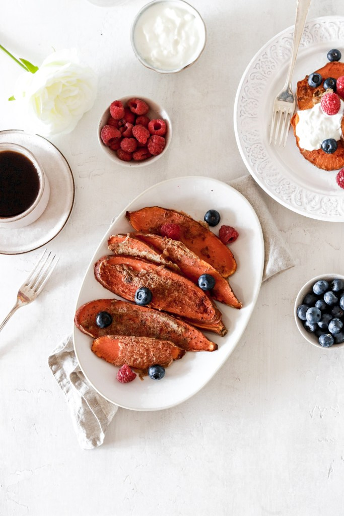Sweet Potato French Toast Gluten Sugar Grain Free From Above