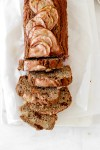 Pear Banana Bread (Gluten, Dairy, Sugar & Oil Free) Sliced from Above
