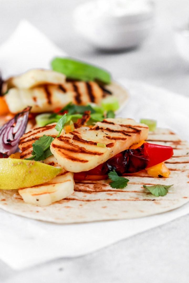 Halloumi Tacos (Vegetarian, Gluten & Grain Free)