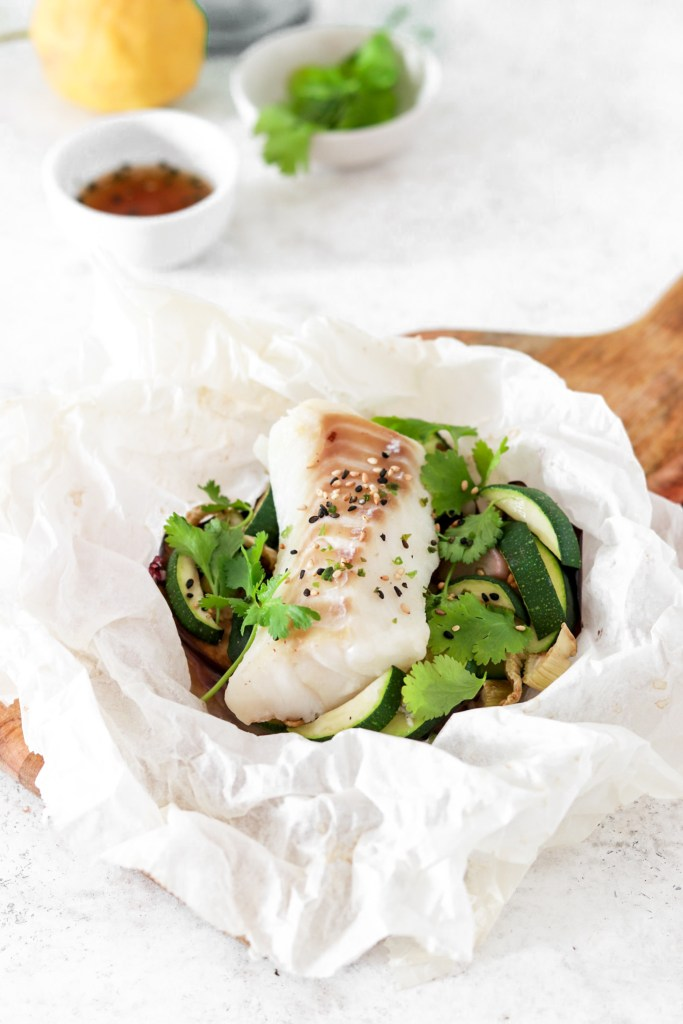 Asian Style Fish Package (Gluten, Grain Free & Low Carb) From Front