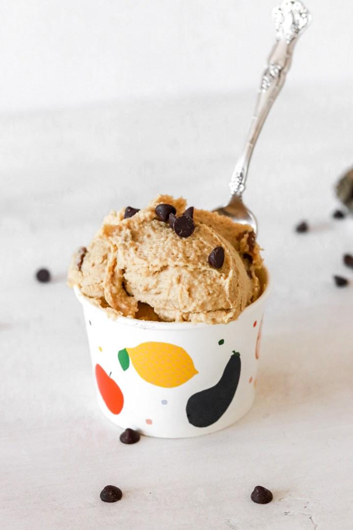 Edible Cookie Dough (Vegan, Gluten & Sugar Free)