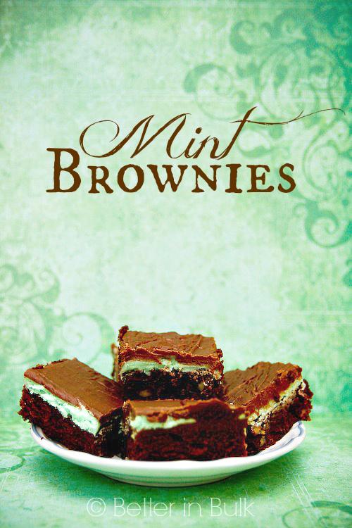 BYU mint brownies