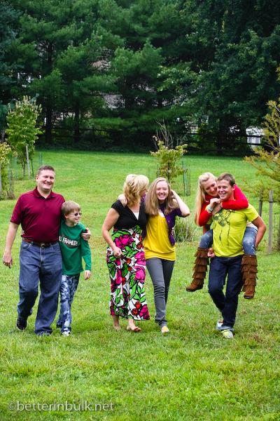 family portrait Maryland