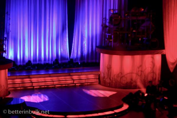 Celtic Woman concert- our seats