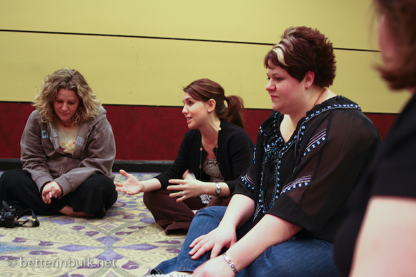 SITS Circle of Trust at Bloggy Boot Camp