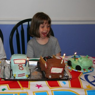 Neccos 8th birthday cakes