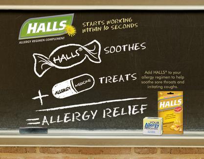 Halls allergy Wellness