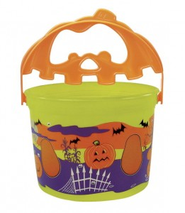 Green Halloween Pail from McDonalds