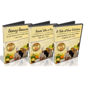 cooking class dvds