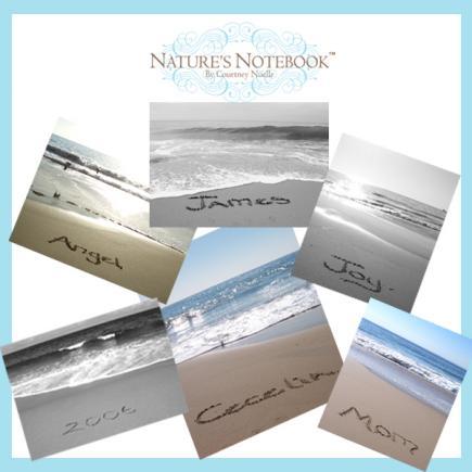 natures notebook custom name