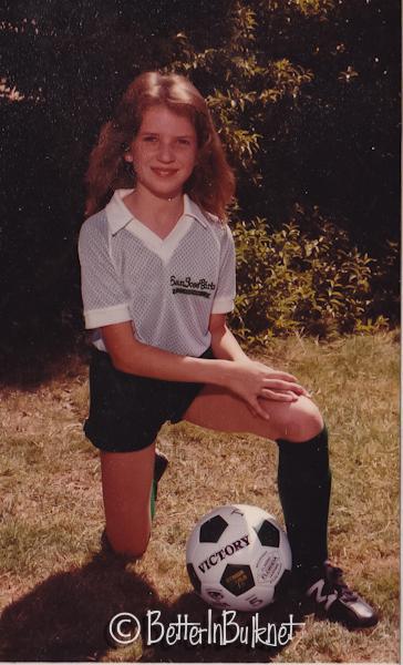 Not a stellar soccer player