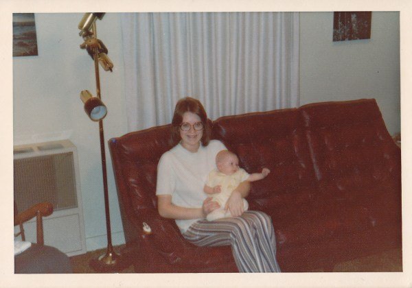 Anne and baby Laura