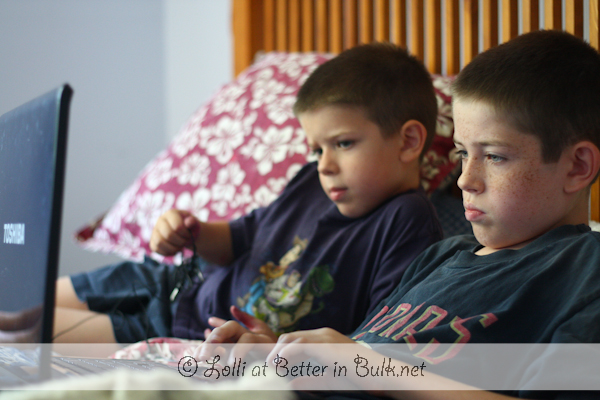 Brother Bonding Time – Wordless Wednesday #linky