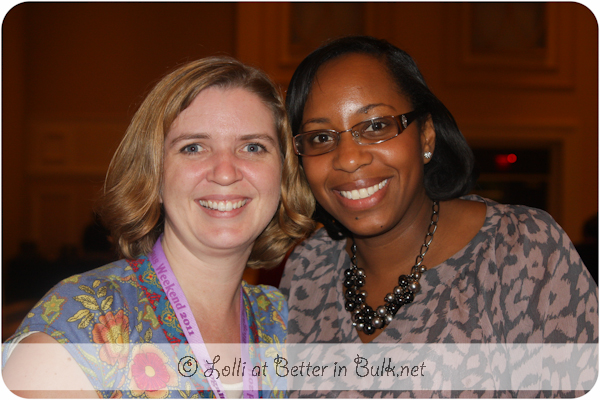 Me & Stacey Ferguson at Blogalicious 2011
