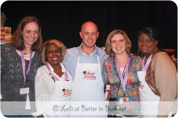 Aunt Jemima Ambassadors with Lolli and Safire, Blogalicious 2011