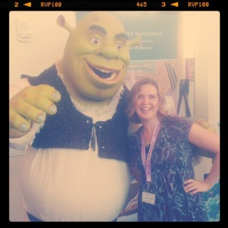 A #Blogalicious Date With Shrek – Wordless Wednesday