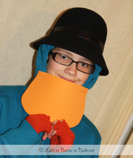 Perry the Platypus DIY costume