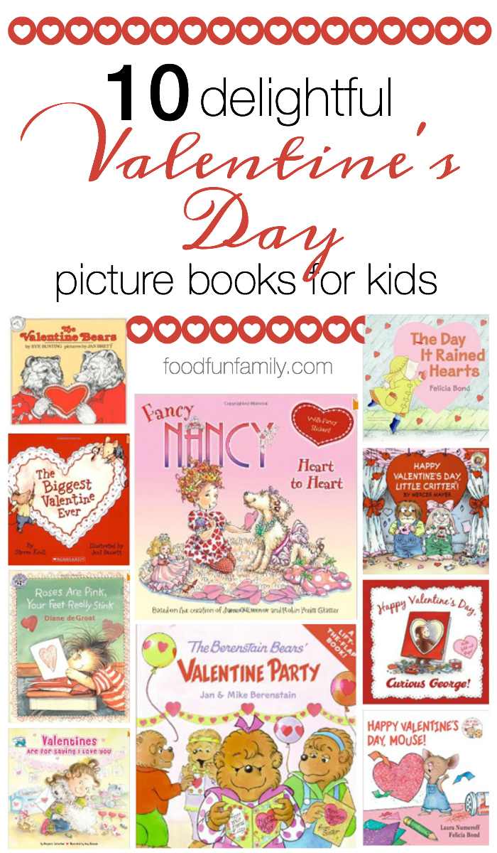 One of our favorite family traditions for each holiday is to find holiday-themed picture books to read together. Here are 10 delightful Valentine's Day books for kids from some of our favorite children's authors and illustrators