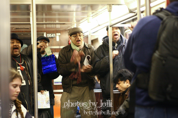 New York City Subway entertainers
