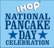 national pancake day IHOP