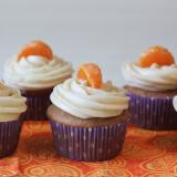Orange Spice Cupcakes