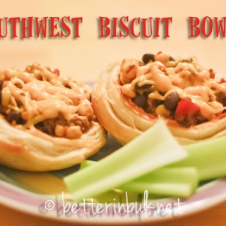 Southwest Biscuit Bowls Recipe
