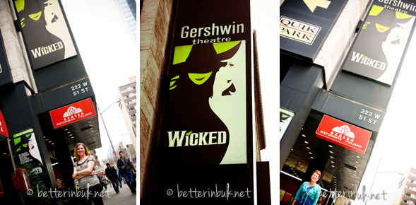 wicked at gershwin
